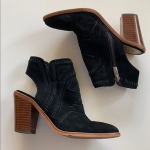 Vince Canute Suede Booties